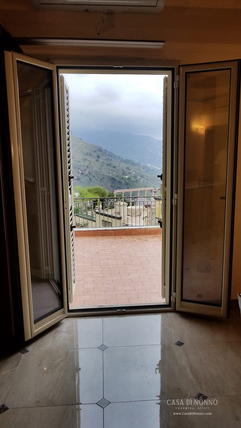 Casa di Nonno Taormina - Terrace View