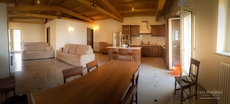Casa di Nonno panoramic view of upper level