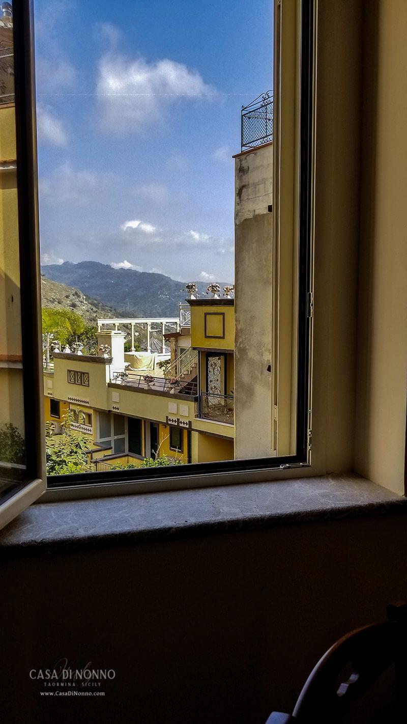 Casa di Nonno Master Bedroom window