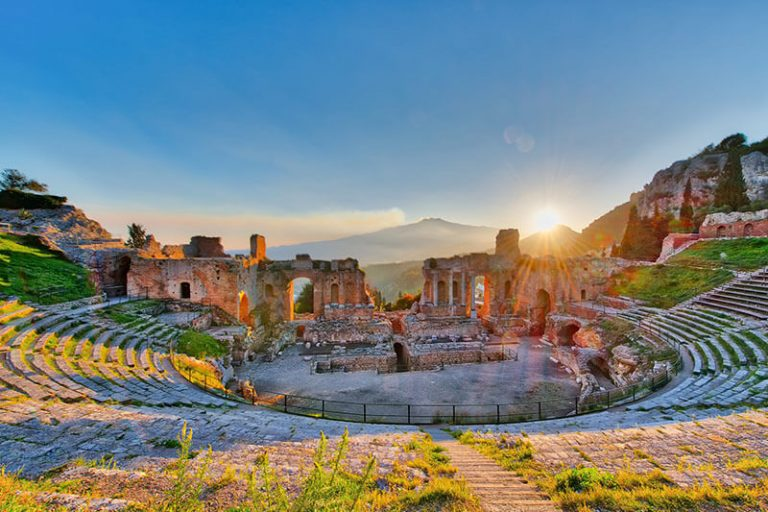 Ancient-Greek-Theatre Taormina, Sicily
