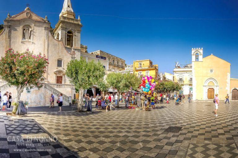 Piazza IX Aprile, Taormina Sicily