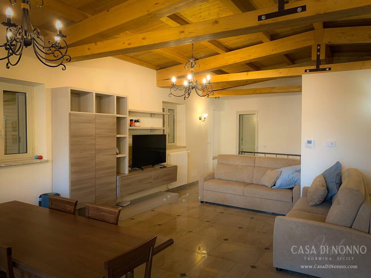 Casa di Nonno Taormina - Living Area