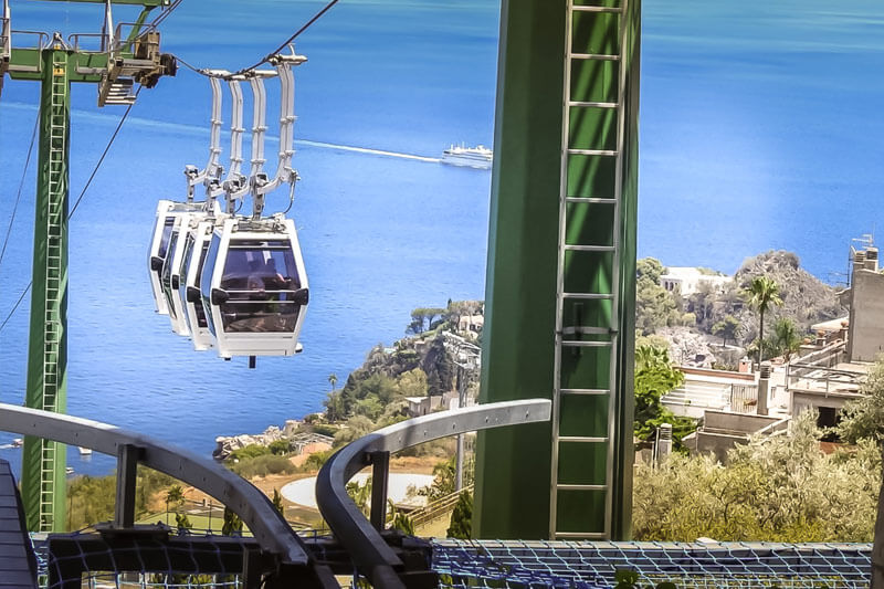Taormina Cable Car